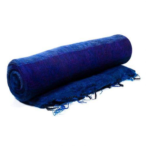 Meditatiedeken XL Blauw-Violet