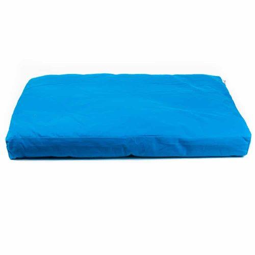Meditatiemat Zabuton Turquoise - 86 x 66 x 6 cm - incl. Binnenhoes