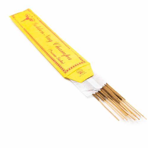 Wierook Tibetaans Stokjes - Golden Nag Champa (15 stuks)