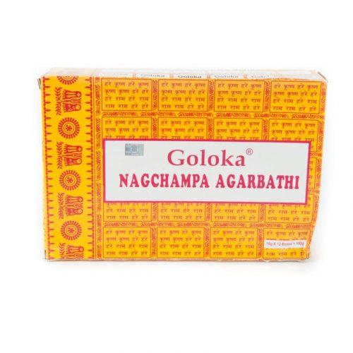 Goloka Wierook Nag Champa (12 pakjes)