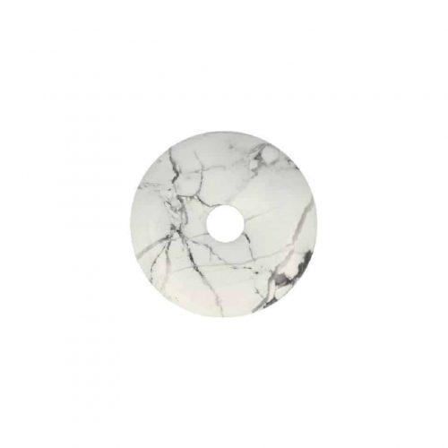 Witte Donut van Howliet (40 mm)