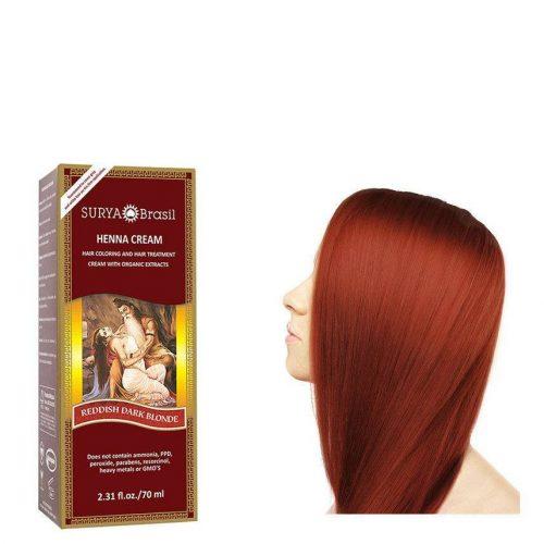 Surya Brasil Vegan Haarverf Cream Reddish Dark Blond